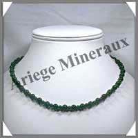 JADE - Collier Perles 4 et 6 mm en alterné - 44 cm - C001